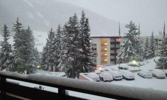 Sunstar Alpine Hotel Davos: Vue chambre