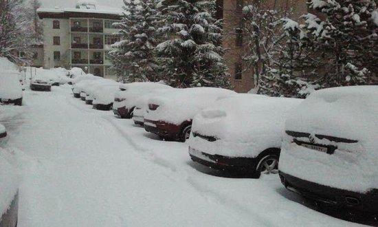 Sunstar Alpine Hotel Davos: Parking