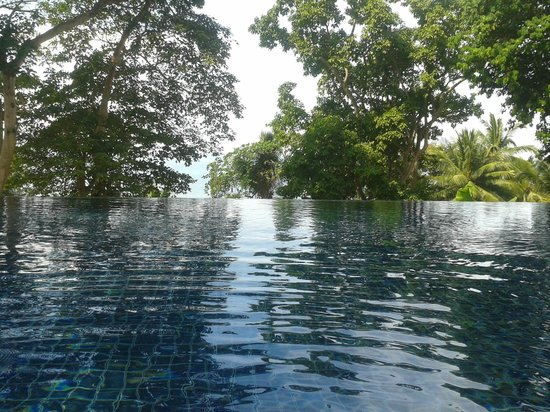 Siam Bay Resort: infinity pool on the hill