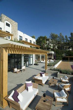Ramada Resort Bodrum: Terrace