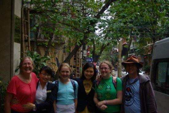 Hanoi Charming 2 Hotel: Saying goodbye