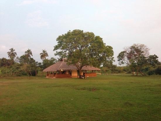 """Puranagama Eco Lodge : Das """"Restaurant"""""""