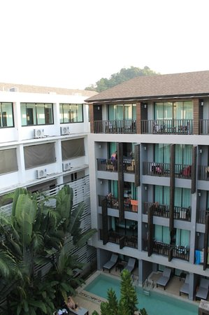 Aree Tara Resort: view from the top floor