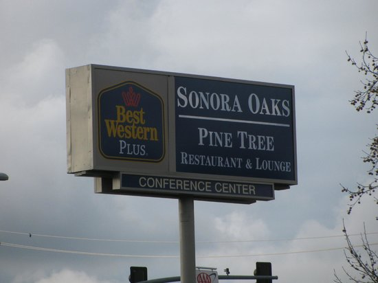 Pine Tree Restaurant: Sign
