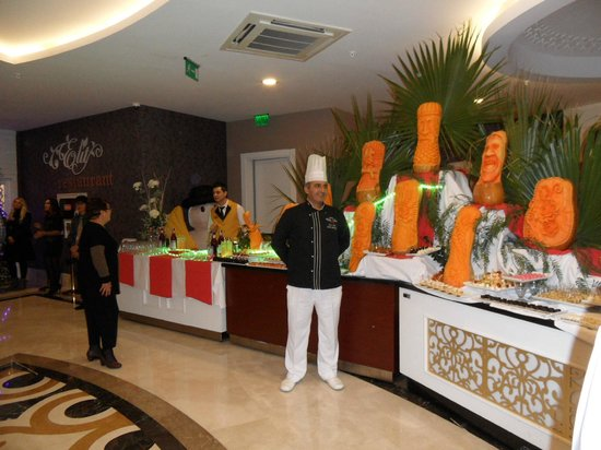 Villa Side Hotel: Koks hadden hun uiterste best gedaan