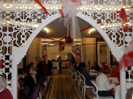 Villa Side Hotel: Kerstsfeer was oke