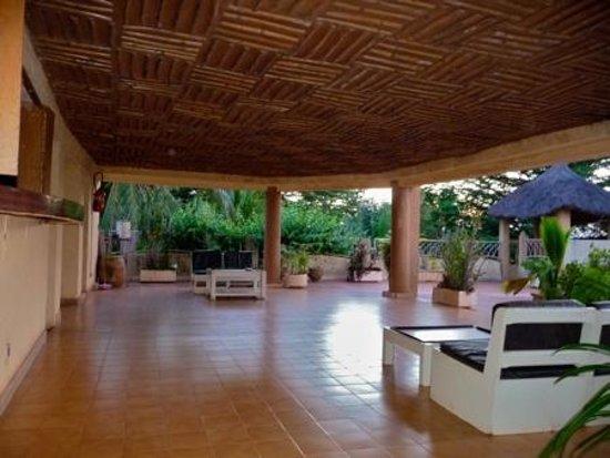 Hotel Le Baobab : Rooftop bar