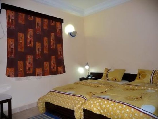 Hotel Le Baobab: A double room