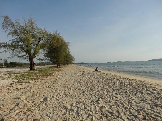 Otres Beach : il tratto di spiaggia libera