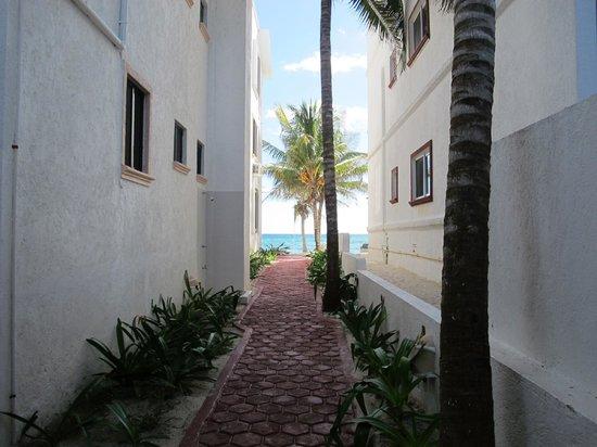 Playa Blanca Condominiums: PB Casita # 9 - your view from the casita to the beach