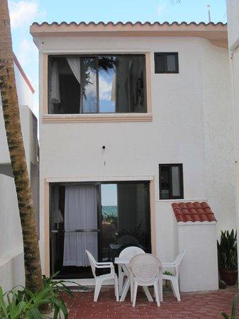 Playa Blanca Condominiums: PB Casita # 9 as seen from the beach