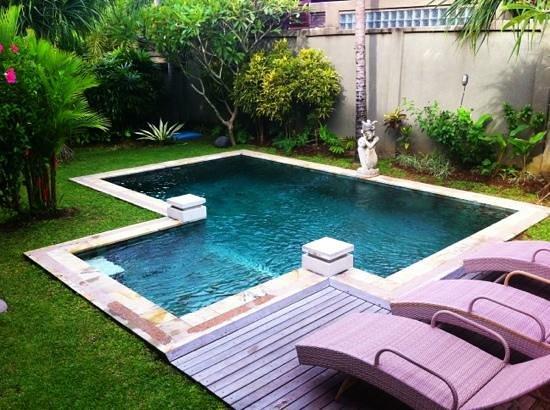 Bali Aroma Exclusive Villas Seminyak: mini pool