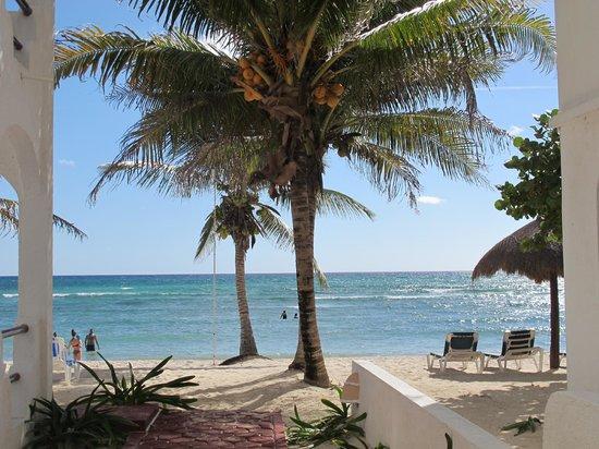 Playa Blanca Condominiums : PB Casita # 9 - the beach right in front