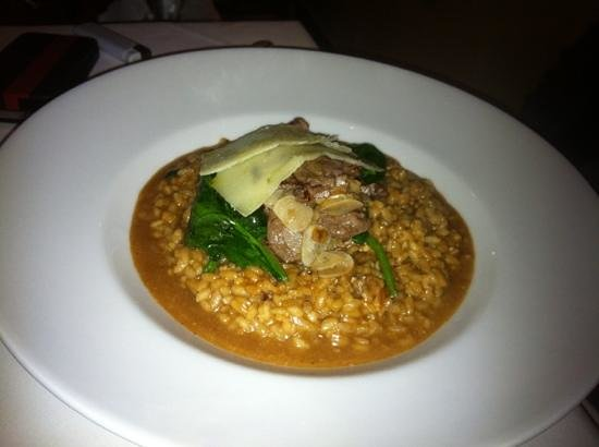 Paparazzi : beef risotto