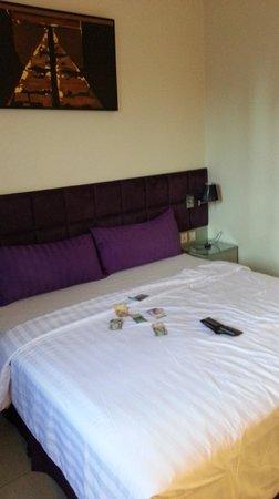 Aston Cengkareng City Hotel & CC: Bed 2