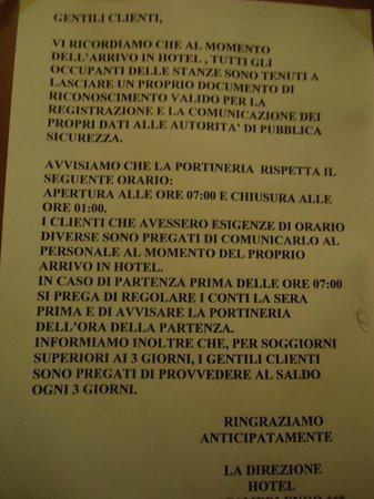 Hotel Camerlengo: in ascensore