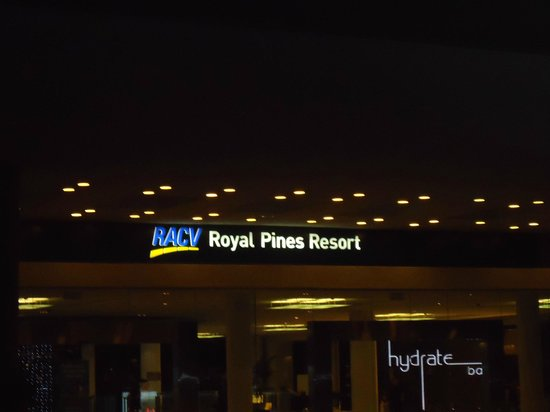 RACV Royal Pines Resort: SIGNAGE