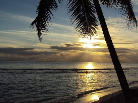 Viva Wyndham Dominicus Beach : tramonto caraibico
