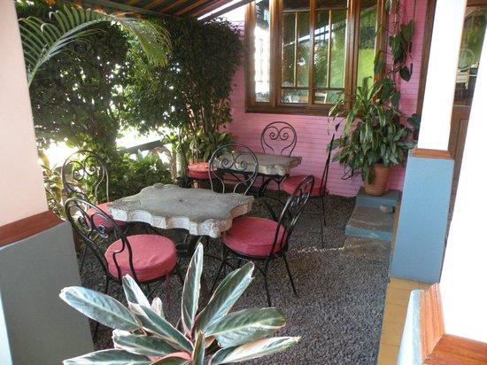 Hotel Fleur de Lys: Terrasse