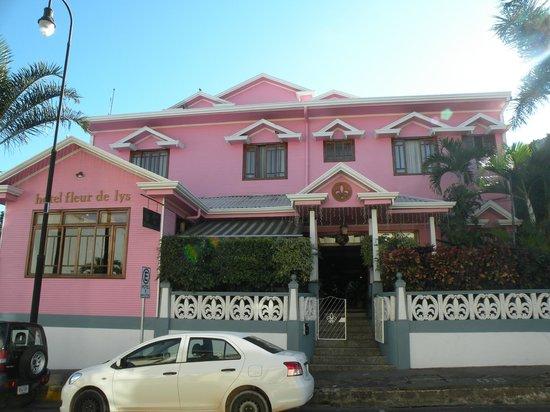 Hotel Fleur de Lys: Façade