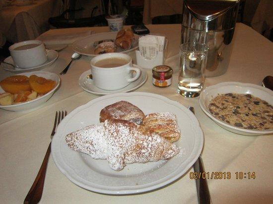Hotel Embassy: la colazione