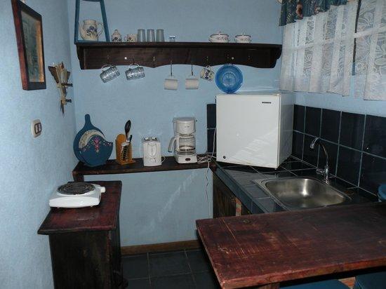 Cabinas Cecilia: Cuisine dans la chambre