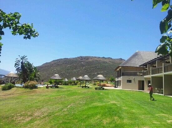 Citrusdal, South Africa: Main lodge and pool