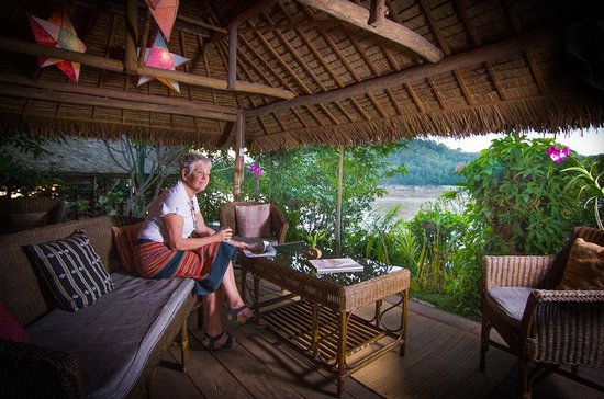 Mekong Villa by Ock Pop Tok: View from the cafe