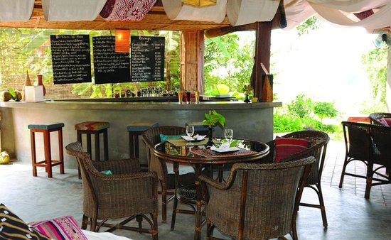 Ock Pop Tok Villa: Silk Road Cafe
