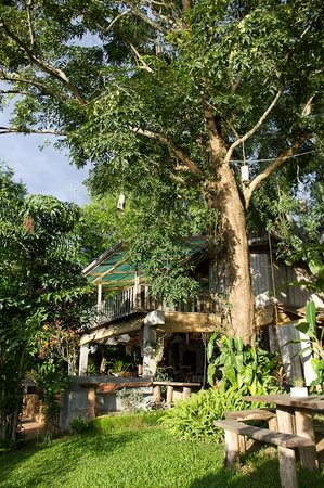 Ock Pop Tok Villa: Villa from outside