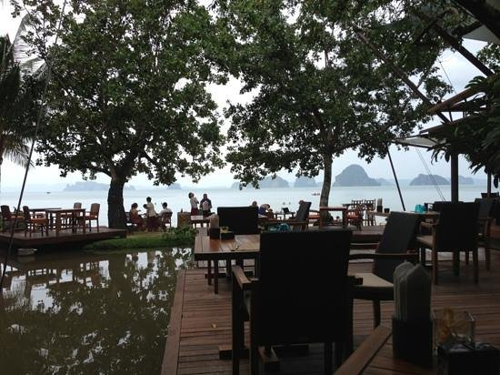 The Tubkaak Krabi Boutique Resort: fra restauranten