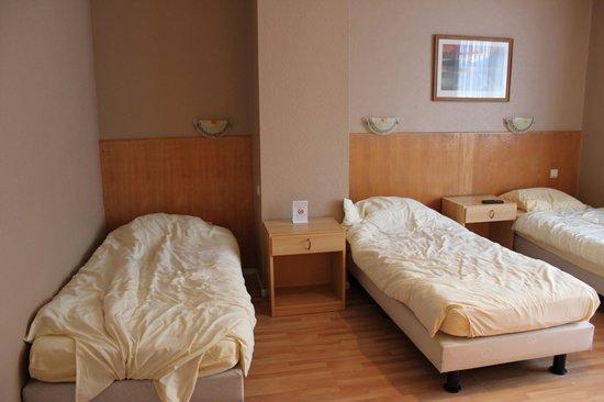 Hotel Frederiksborg: Les 3 lits