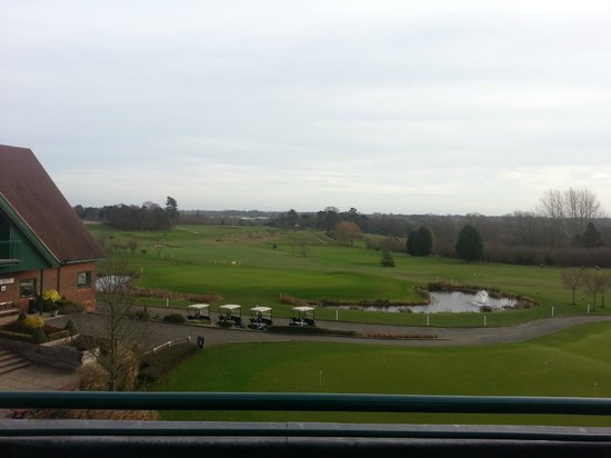 Ufford Park Woodbridge Hotel, Golf & Spa: Premier view from the premier room