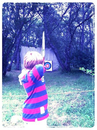 Loch Tay Highland Lodges: archery on site