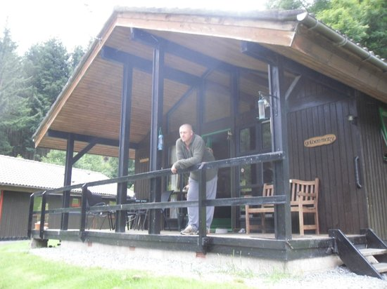Loch Tay Highland Lodges: golden mary lodge