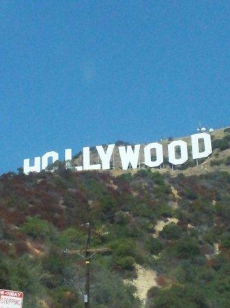 Hollywood Stars Inn: Hollywood Sign