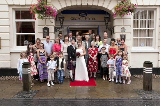 Best Western Lichfield City Centre The George Hotel: Weddings at The George