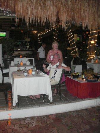 Hotel El Tukan: last dinner.