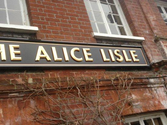 The Alice Lisle: Alice lisle