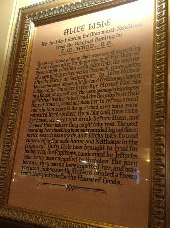 The Alice Lisle: History of Alice Lisle