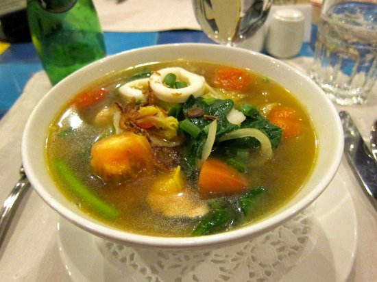 Resorts World Kijal: Yellow Mee Soup... yummy!