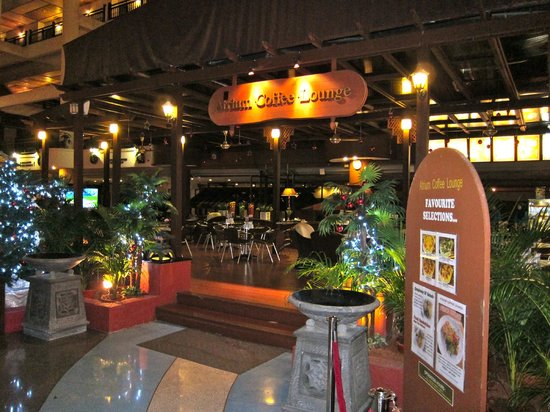 Resorts World Kijal: Atrium Coffee Lounge