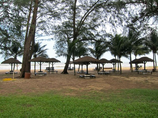 Resorts World Kijal: Beach area