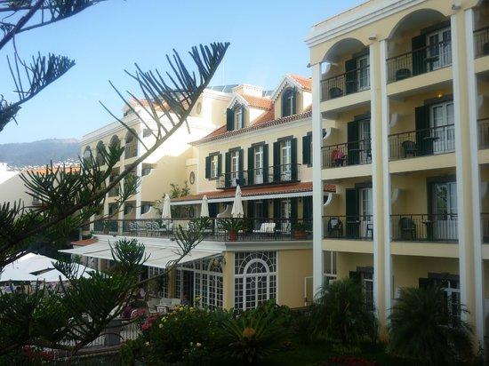 Hotel Quinta Bela Sao Tiago: вид из окна номера