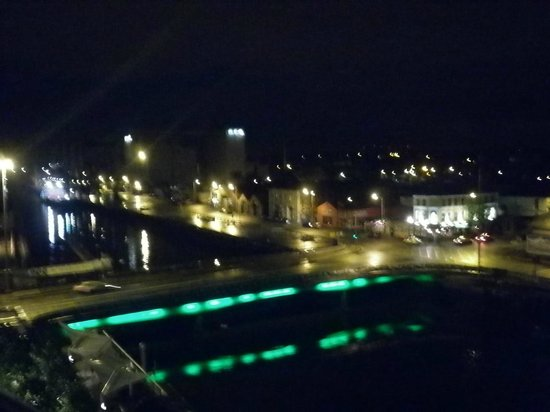 Clayton Hotel Cork City: View of Cork from the room