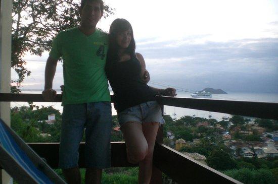 Pousada Barlavento: vista desde el balcon!!! hermoso!!1