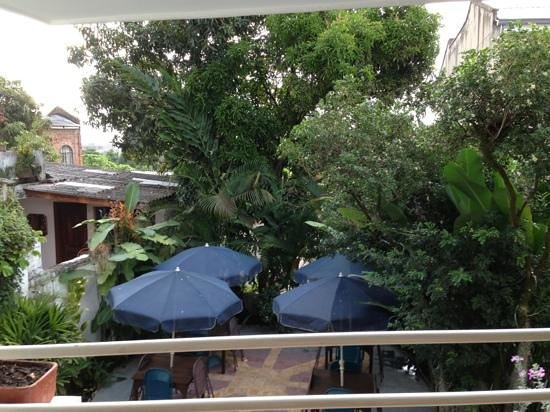 Jardin Azul: vista dal balcone della stanza