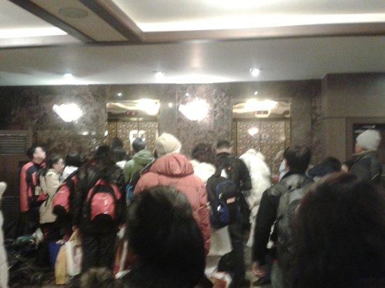 Hotel M: wifi at lobby