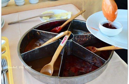 Cosmopolitan Park Hotel: Delicious Jam