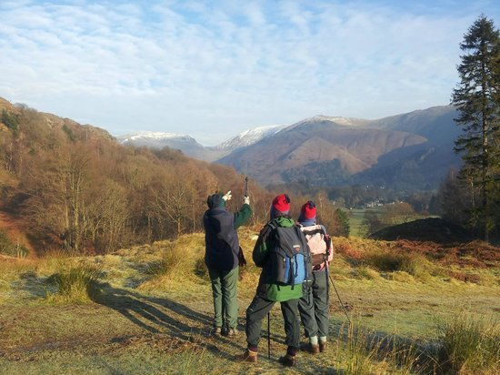YHA Grasmere Butharlyp Howe: Wonderful view overlooking Grasmere